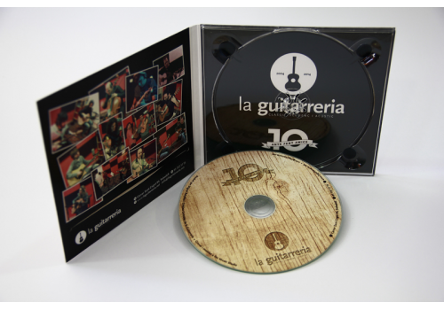 25 copias de CD en Digipack 2 Palas