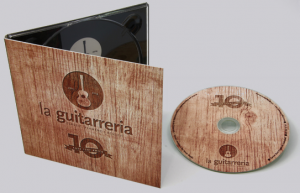 200 copias de CD en Digipack 2 Palas